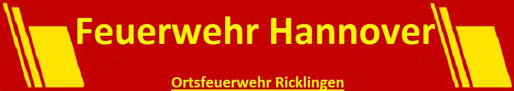 Freiwillige Feuerwehr Hannover Ricklingen